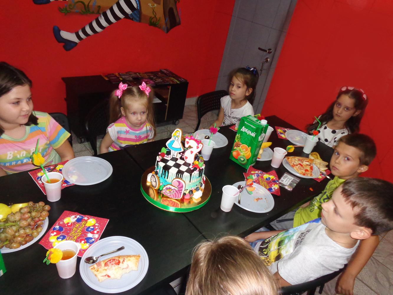 Детский День рождения в квестах Алиса и Гарри Поттер на Ларина - это креативно! Ростов-на-Дону