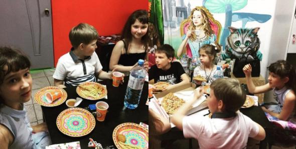 Детский День рождения в квестах Алиса и Гарри Поттер на Ларина - это оригинально! Ростов-на-Дону